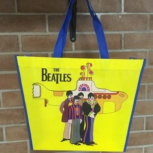 The Beatles Yellow Submarine Tote New 15x15 inches